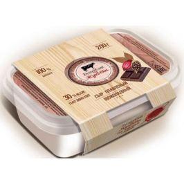 Белый сыр из Жуковки Сыр Шоколадный, плавленый 30%, 200 г