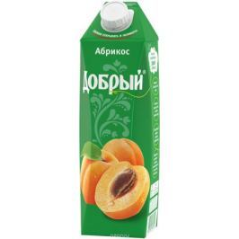 Добрый Абрикосовый нектар, 1 л