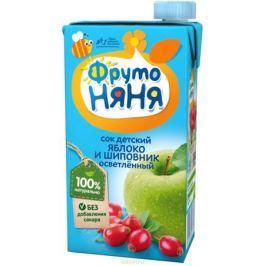 ФрутоНяня сок из яблок и шиповника, 0,5 л