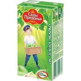 Сады Придонья сок из зеленых яблок с 4 месяцев, 0,125 л