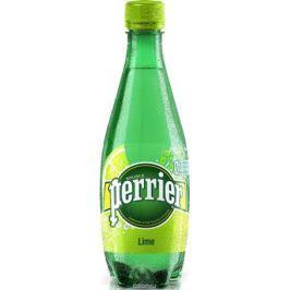 Perrier напиток с ароматом лайма, сильногазированный, 0,5 л