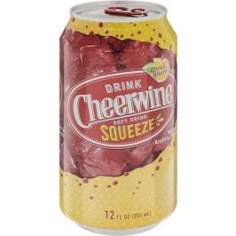 Cheerwine Squeeze напиток газированный, 355 мл