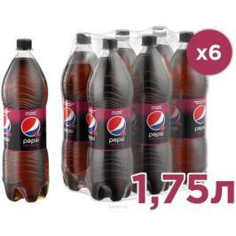 Pepsi-Cola Вайлд Черри напиток сильногазированный, 6 штук по 1,75 л