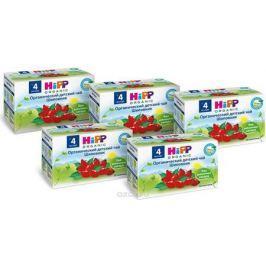Hipp чай органический детский Шиповник пакетированный, с 4 месяцев, 6 шт по 40 г