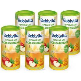 Bebivita чай гранулированный детский Освежающий, с 5 месяцев, 6 шт по 200 г