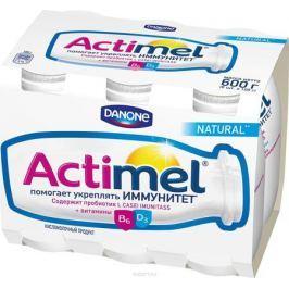 Актимель Продукт кисломолочный 2,6%, 6 шт по 90 г