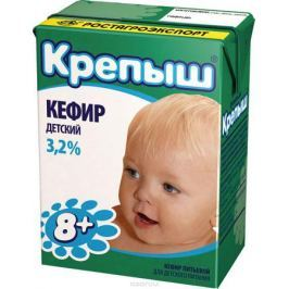 Крепыш Кефир 3,2%, 204 г