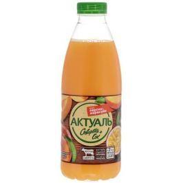 Актуаль Напиток на сыворотке с витаминами и минералами Персик маракуйя, 930 г