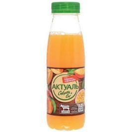 Актуаль Напиток на сыворотке с витаминами и минералами Персик маракуйя, 310 г