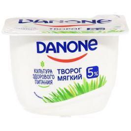 Danone Творог мягкий Натуральный 5%, 170 г