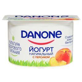 Danone Йогурт густой Персик 2,9%, 110 г