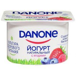 Danone Йогурт густой Лесные ягоды 2,9%, 110 г