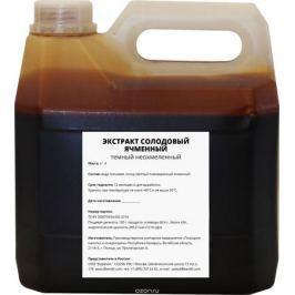 Полоцкие напитки и концентраты: экстракт солодовый ячменный темный, неохмеленный, 4 кг
