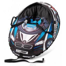 Small Rider Надувные санки-тюбинг Snow Cars 3 с сиденьем и ремнями цвет черный темно-синий