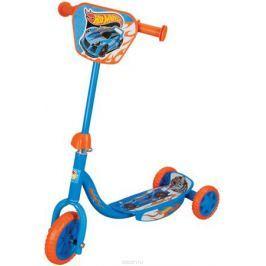1TOY Самокат детский трехколесный Hot Wheels с декоративной панелью