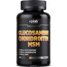 Глюкозамин и Хондроитин Vplab Glucosamine & Chondroitin & MSM, , 180 таблеток