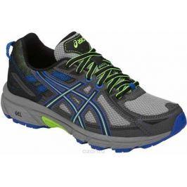 Кроссовки для мальчика Asics Gel-Venture 6 GS, цвет: серый, синий. C744N-1190. Размер 4H (35,5)