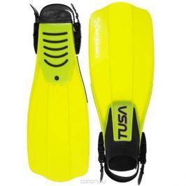 Ласты Tusa Liberator X-Ten с открытой пяткой, цвет: желтый. TS SF-5500 FY. Размер 40/44