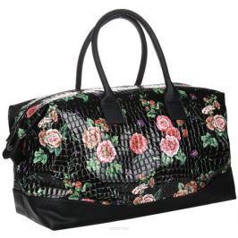 Сумка дорожная женская Аntan, цвет: черный, розовый. 4670018862165