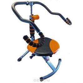 Тренажер для пресса Sport Elit, цвет: оранжевый, черный, 105 см х 69 см х 63 см