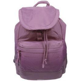 Рюкзак городской женский Grizzly, цвет: сиреневый, пепельно-розовый, 22 л. RD-748-1/2