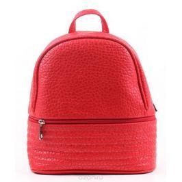Рюкзак женский Медведково, цвет: красный. 17с6527-к14