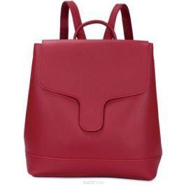Рюкзак женский OrsOro, цвет: красный, 30 x 32 x 12 см. DS-882/3