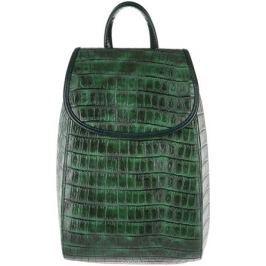 Рюкзак женский Медведково, цвет: темно-зеленый. 17с4123-к14