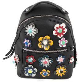 Рюкзак женский Flioraj, цвет: черный. 8157