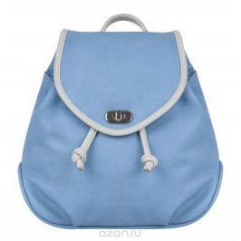 Рюкзак женский Constanta, цвет: голубой, светло-серый. 1-3325-036