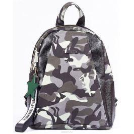Рюкзак женский Nuages, цвет: черный, серый. NR1810/2