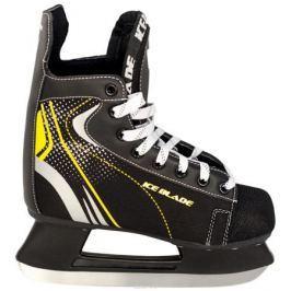 Коньки хоккейные Ice Blade Shark, цвет: черный, желтый. УТ-00006841. Размер 46
