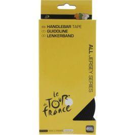 Обмотка руля Tour de France, 2х160 + 2х8,5 см, цвет: черный