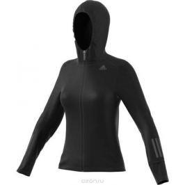 Худи для бега женское Adidas RS SFT SH JKT W, цвет: черный. BR0806. Размер XS (40/42)