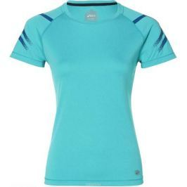 Футболка женская Asics Icon Ss Top, цвет: бирюзовый. 154540-1274. Размер S (44)