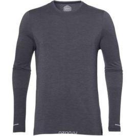 Лонгслив мужской Asics Seamless Ls, цвет: темно-серый. 154587-0773. Размер S (44)
