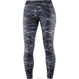 Тайтсы женские Salomon Mantra Tech Leg W, цвет: серый. L40066100. Размер M (46/48)