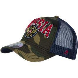 Бейсболка Atributika & Club Россия, цвет: зеленый. 101568. Размер 55/58