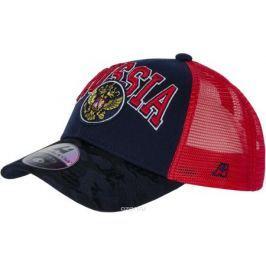 Бейсболка детская Atributika & Club Россия, цвет: синий, красный. 101575. Размер 52/54