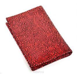 Обложка на паспорт женская Topo Fortunato, цвет: красный. TF 724-093