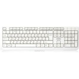 SmartBuy ONE 208 USB, White клавиатура проводная