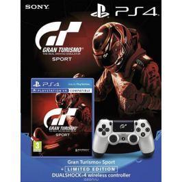 Sony Dualshock 4 GT Sport контроллер для PS4 + игра PS4 Gran Turismo Sport (поддержка VR)