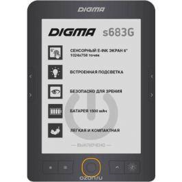 Digma S683G, Gray электронная книга