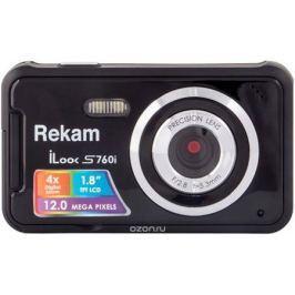 Rekam iLook S760i, Black цифровая фотокамера