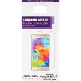 Red Line защитное стекло для Samsung Galaxy A3 (2016), Black