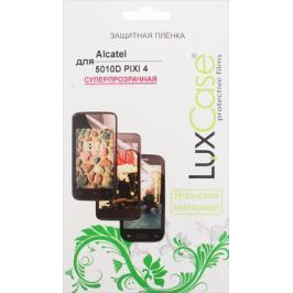 LuxCase защитная пленка для Alcatel 5010D Pixi 4, суперпрозрачная