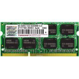 Transcend DDR3 SODIMM 8GB 1333МГц модуль оперативной памяти