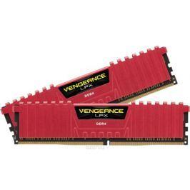 Corsair Vengeance LPX DDR4 2x16Gb 2666 МГц, Red комплект модулей оперативной памяти (CMK32GX4M2A2666C16R)