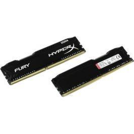 Kingston HyperX Fury DDR4 DIMM 8GB (2х4GB) 2666МГц комплект модулей оперативной памяти (HX426C15FBK2/8)