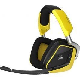 Corsair Gaming Void Pro RGB Wireless SE, Yellow игровая гарнитура